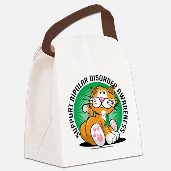 Bipolar-Disorder-Cat.png Canvas Lunch Bag