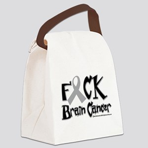 Fuck-Brain-Cancer Canvas Lunch Bag