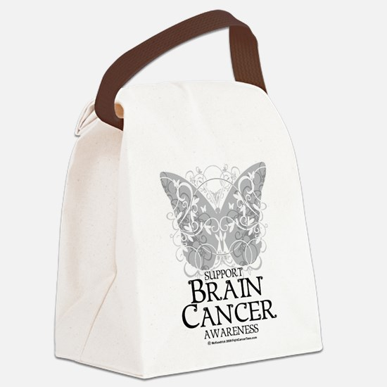 Brain-Cancer-Butterfly.png Canvas Lunch Bag