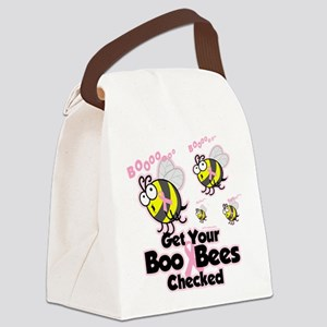 Save-The-Boo-Bees Canvas Lunch Bag
