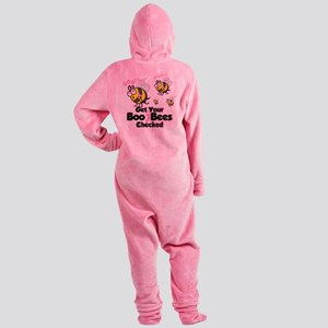 Save-The-Boo-Bees Footed Pajamas