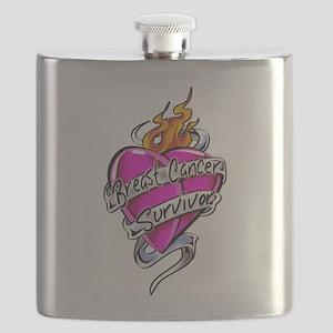 BC-Tattoo-Heart2 Flask