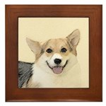 Pembroke Welsh Corgi Framed Tile