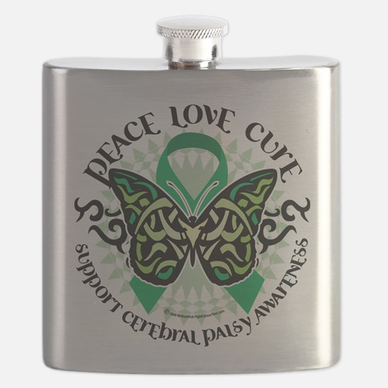 Cerebral-Palsy-Butterfly-Tribal-2.png Flask
