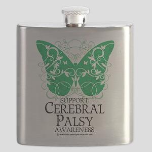 Cerebral-Palsy-Butterfly Flask