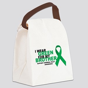 CP-Green-for-Brother Canvas Lunch Bag