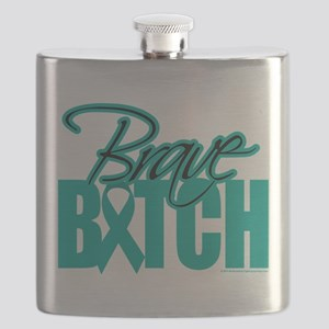 Brave-Bitch-Cervical-Cancer Flask