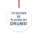 Play Drums Keepsake Ornament