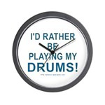 Play Drums Wall Clock