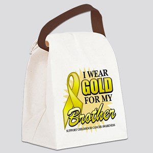 Gold-Brother-2 Canvas Lunch Bag