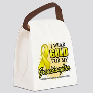 Gold-Granddaughter-2A Canvas Lunch Bag