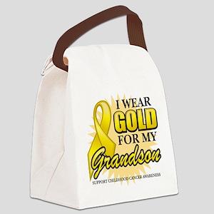 Gold-Grandson-2 Canvas Lunch Bag