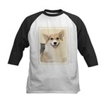 Pembroke Welsh Corgi Kids Baseball Tee