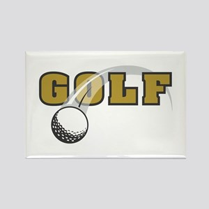 Golf Nuts Rectangle Magnet