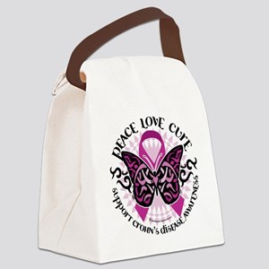 Crohns-Disease-Butterfly-Tribal Canvas Lunch B