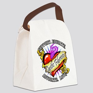 CF-Heart-Tattoo-sticker Canvas Lunch Bag