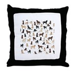 ROOSTER ROOSTER!! Throw Pillow