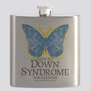 Down-Syndrome-Butterfly Flask