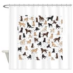 ROOSTER ROOSTER!! Shower Curtain