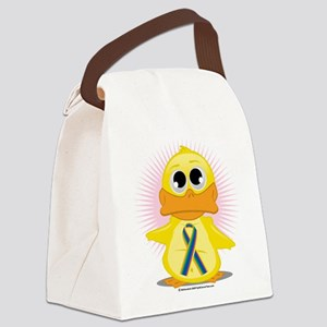 STD-Ribbon-Duck Canvas Lunch Bag