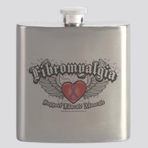 Fibromyalgia-Wings Flask