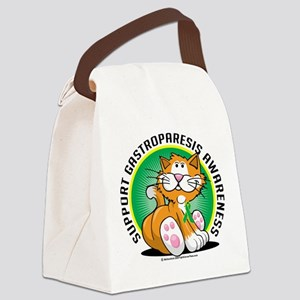Gastroparesis-Cat Canvas Lunch Bag