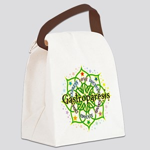 Gastroparesis-Lotus Canvas Lunch Bag