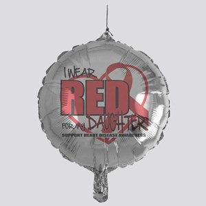 HD-Red-for-Daughter Mylar Balloon