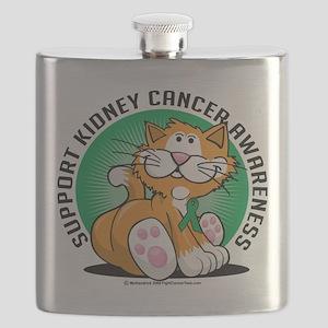 Kidney-Cancer-Cat Flask