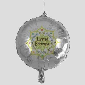 Lyme-Disease-Lotus Mylar Balloon
