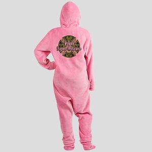 Lyme-Disease-Iron-Cross Footed Pajamas