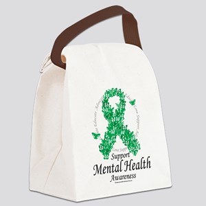 Mental-Health-Ribbon-of-Butterflies Canvas Lun