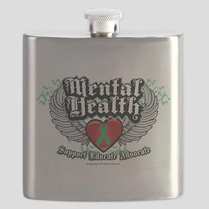 Mental-Health-Wings Flask