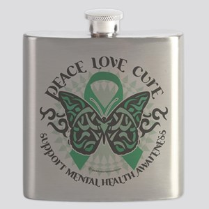 Mental-Health-Butterfly-Tribal-2 Flask