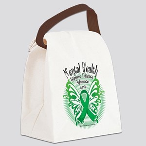 Mental-Health-Butterfly-3 Canvas Lunch Bag