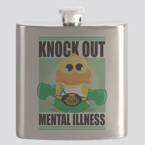 Knock-Out-Mental-Illness Flask