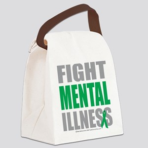 Fight-Mental-Illness Canvas Lunch Bag