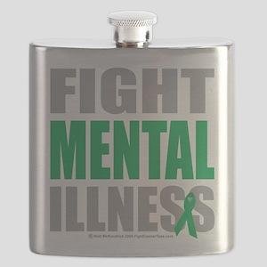 Fight-Mental-Illness Flask