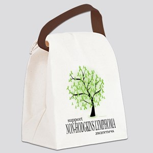Non-Hodgkins-Lymphoma-Tree Canvas Lunch Bag
