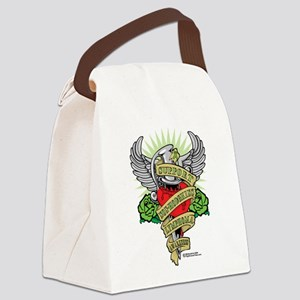 Non-Hodgkins-Lymphoma--Dagger Canvas Lunch Bag
