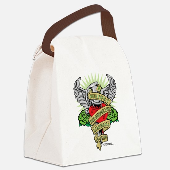 Non-Hodgkins-Lymphoma--Dagger.png Canvas Lunch Bag