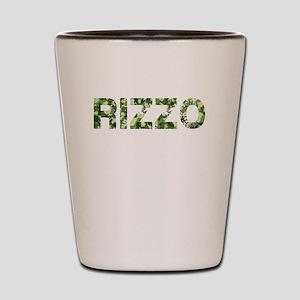 Rizzo, Vintage Camo, Shot Glass