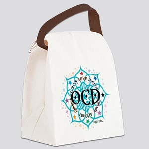 OCD-Lotus Canvas Lunch Bag