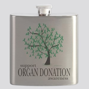 Organ-Donation-Tree Flask