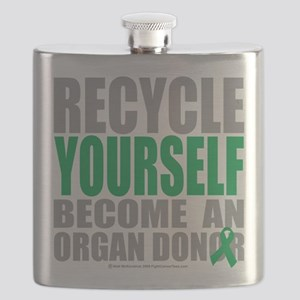 Recycle-Yourself-Organ-Donor Flask