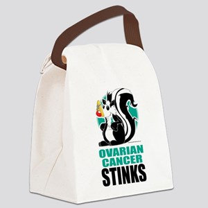 Ovarian-Cancer-Stinks Canvas Lunch Bag