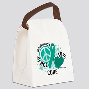 Ovarian-Cancer-PLC Canvas Lunch Bag
