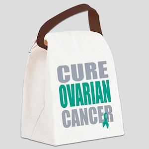 CURE OVARIAN CANCER Canvas Lunch Bag
