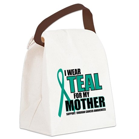OC-Teal-For-Mother.png Canvas Lunch Bag