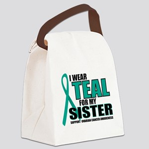 OC-Teal-For-SISTER Canvas Lunch Bag